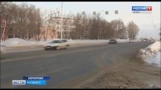 На «проклятом» кемеровском перекрёстке случилось очередное ДТП