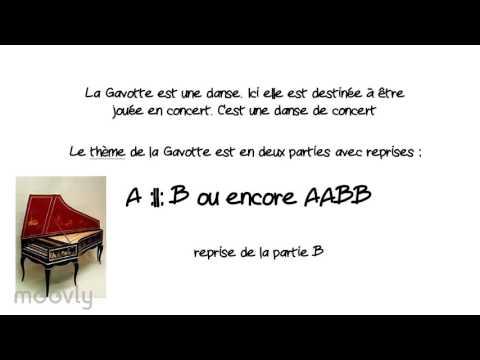 Rameau - Gavotte et six doubles - Analyse du thème