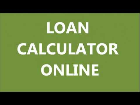 loan calculator online