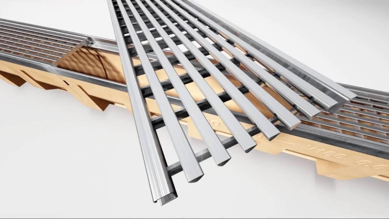 aco drain multiline designroste f r entw sserungsrinne. Black Bedroom Furniture Sets. Home Design Ideas