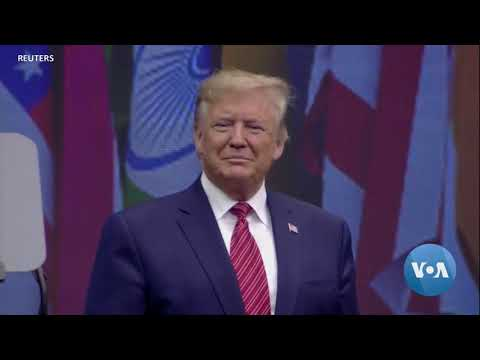 Trump Touts US Economy At Modi's Event In Houston