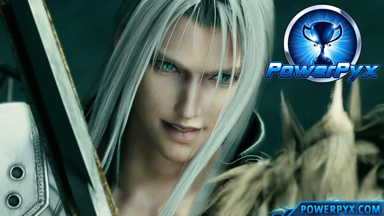 Final Fantasy Vii Remake Sephiroth Boss Fight Hard Difficulty Youtube