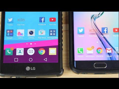 LG G4 vs Galaxy S6 QHD Screen Battle IPS vs Super AMOLED