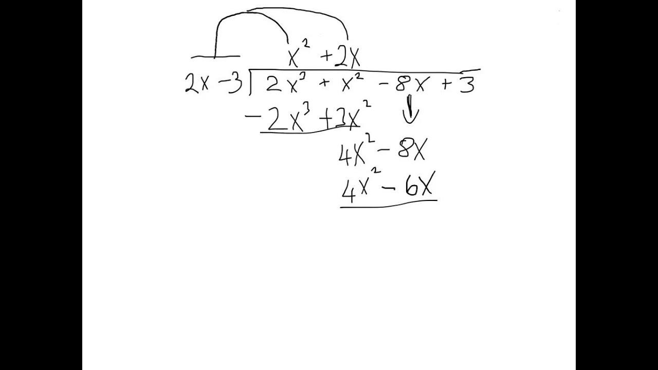 junior cert maths paper 1 algebraic long division youtube. Black Bedroom Furniture Sets. Home Design Ideas