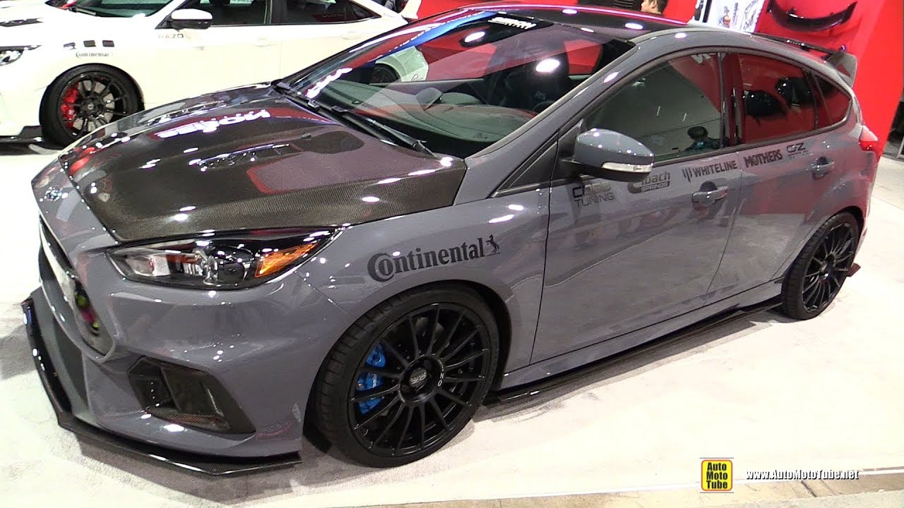 2016 ford focus rs seibon carbon accessorized exterior. Black Bedroom Furniture Sets. Home Design Ideas