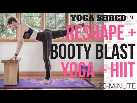 best-body-reshaping,-booty-tone-yoga-shred™-(yoga-+-hiit)-flow!