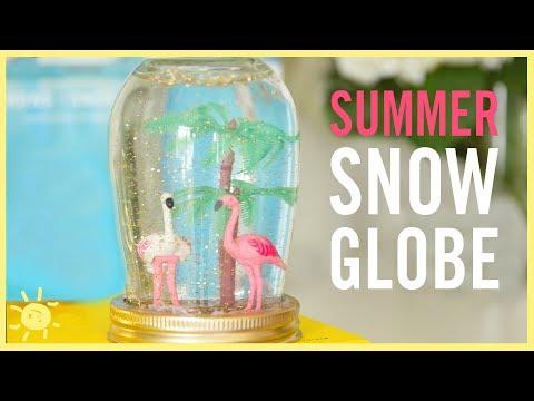 DIY | Summer Snow Globes