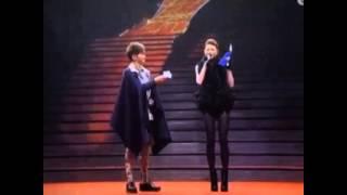 Shiga Lin 連詩雅 叱咤頒獎禮2013 說一句