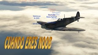 Como volar en realista si eres un noob - War Thunder