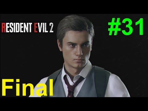 Resident Evil 2 Remake/Biohazard RE2 - [Walkthrough Part 31 - Noir Leon] [Final Boss Mr. X] |