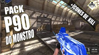 pb pack p90 mcd blindo a p90 do monstro by kraken
