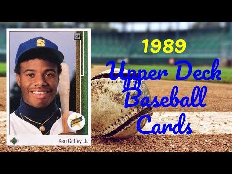 1989 Upper Deck Baseball Cards - 10 Most Valuable