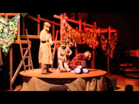"""""""Fantastic Mr. Fox"""" Live on Stage at the Chattanooga Theatre Centre"""