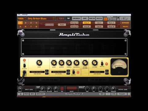 Crossroads Blues (Cream Version) Guitar Tracked With Amplitube 3 (Free) And Cubase 5