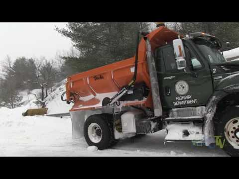 Simsbury Public Works Snow Plow Operations