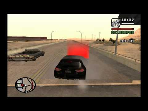 San Andreas Drag Race CLEO MOD