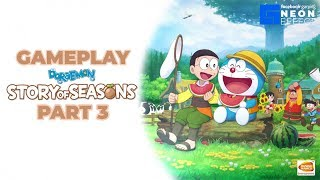 [Nintendo Switch] Doraemon Story Of Seasons Gameplay English Version Part 3