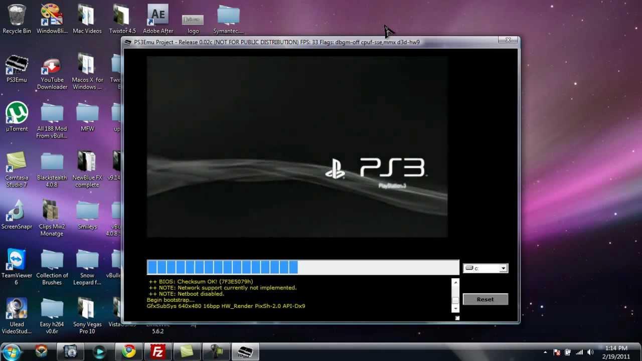 Симулятор playstation 3 на pc скачать