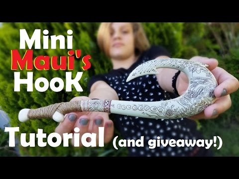 Mini Maui's Hook Tutorial! (Giveaway Closed)