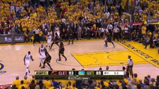 LeBron James CRAZY blocks & Kyrie Irving CLUTCH three lead Cavs to be the NBA Champion! (2016)