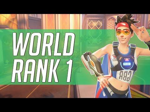 WORLD RANK 1 TRACER PLAYER AIMBOTCALVIN OVERWATCH