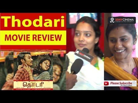 Thodari Movie Review | Dhanush |...