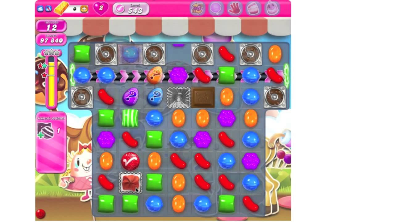 how to play candy crush saga level 539