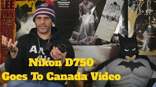 nikon d750 review with the 24 120 f4 video test from toronto