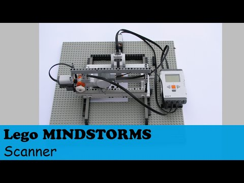 Lego® mindstorms nxt Scanner