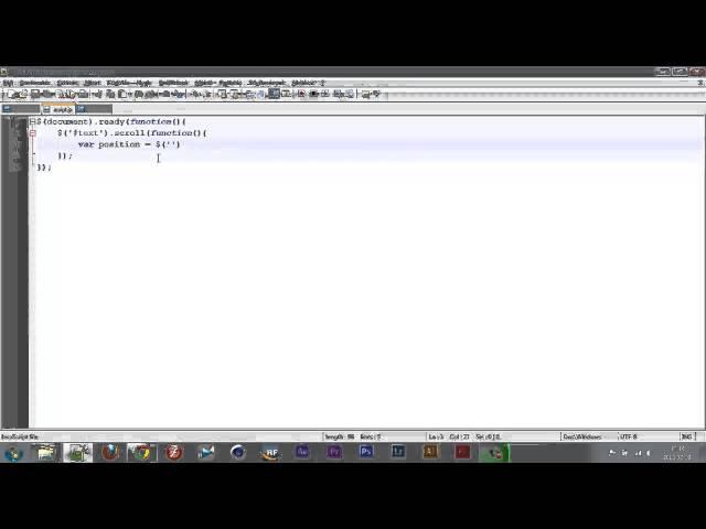 Feladat 2 + scroll() scrollTop()