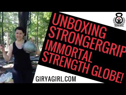 Unboxing Stronger Grip Immortal Strength Globe - Facebook Live