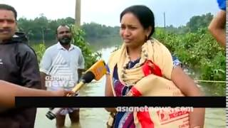 Water level comes down in Kuttanad