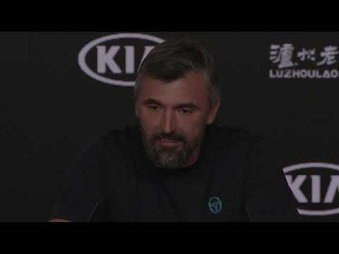 Goran Ivanisevic Press Conference in Melbourne