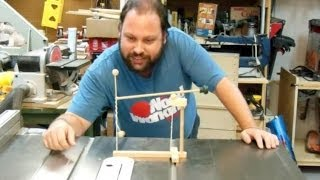 Kinetic Tetherball Desk Toy (codename: H.a.t.s.) - Woodworking Project