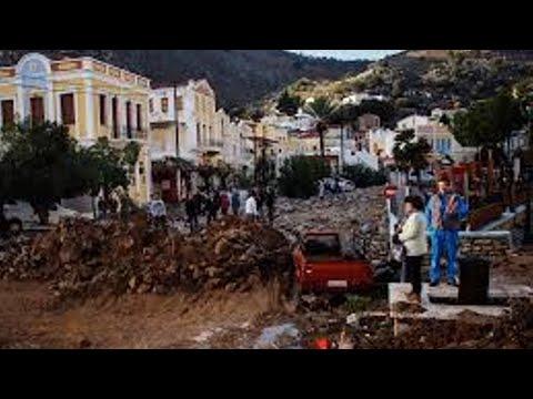 Floods near Greek capital leave 14 dead; roads, homes flooded