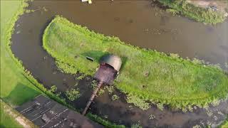 Radawa - Gminny Ośrodek Wypoczynku i Rekreacji w Radawie z drona Plaża Radawa