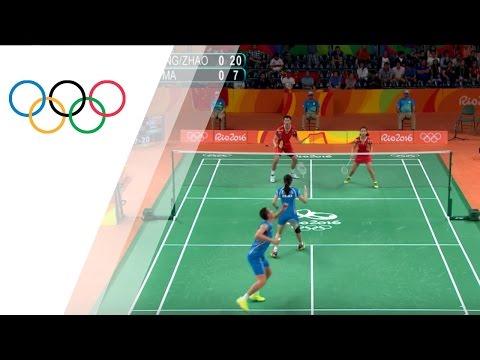 Rio Replay: Badminton Mixed Doubles Bronze Medal Match