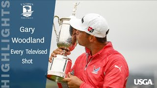2019 U.S. Open: Every Televised Shot of Gary Woodland's Victory