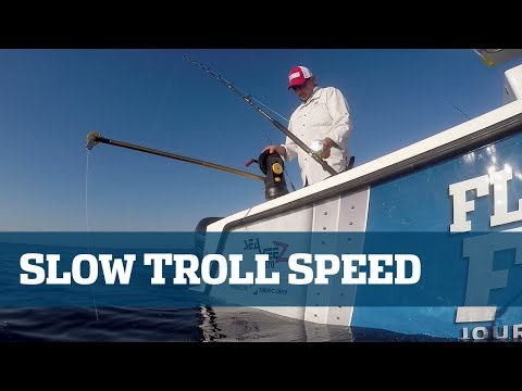 Florida Sport Fishing TV Slow Trolling Pro's Tip