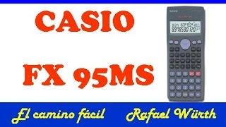 CASIO FX 95MS  ECUACIONES