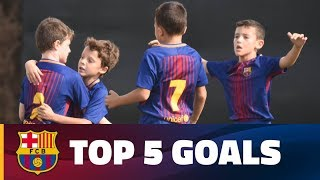 FCB Masia – Academy: Top 5 goals 28-29 October