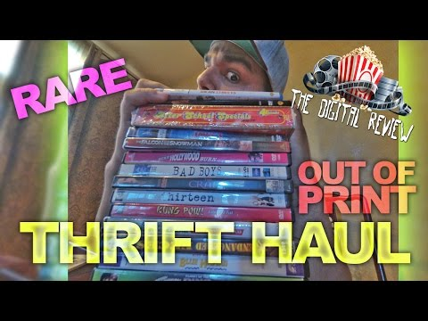 ALOT OF RARE & OUT OF PRINT THRIFT FINDS!