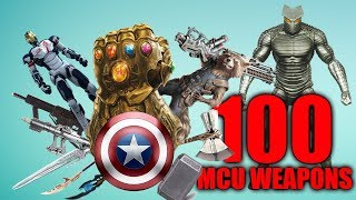 All 100 Weapons in the Marvel Cinematic Universe