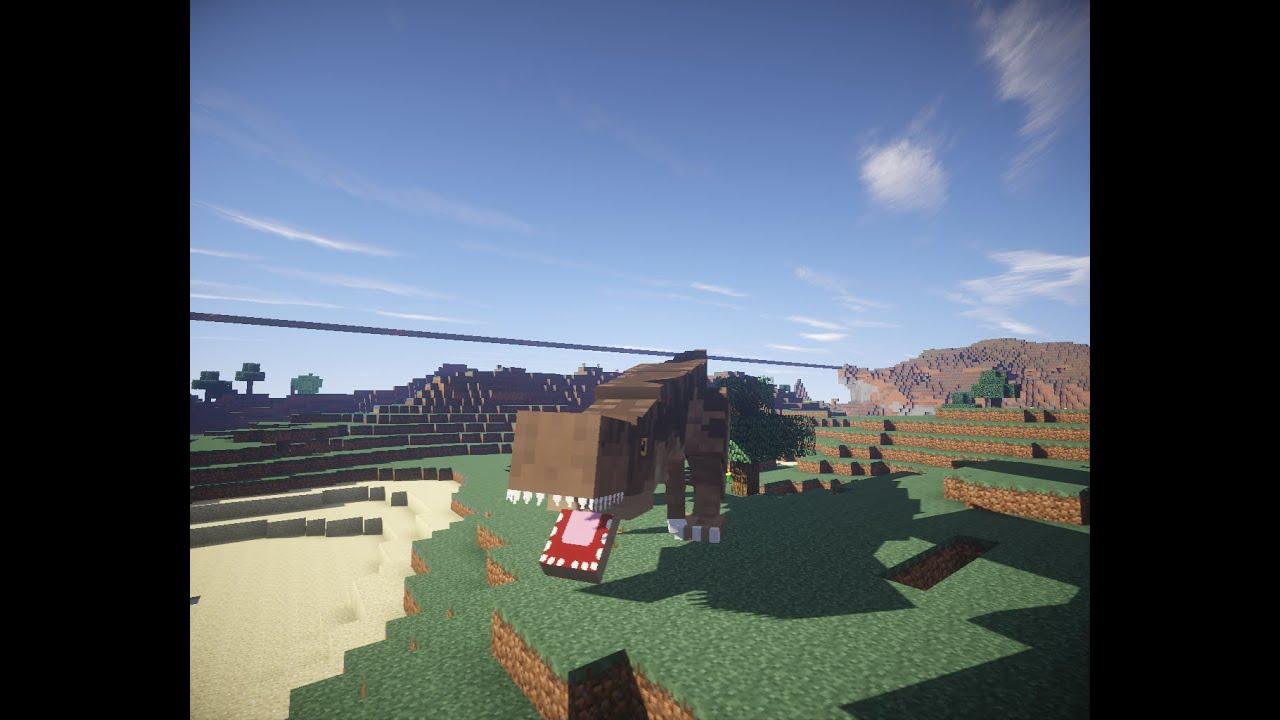 Скачать мод JurassiCraft для Minecraft 1 7 10