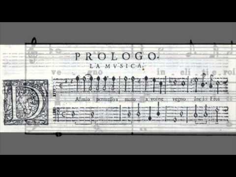 """C. Monteverdi - L'Orfeo, Favola in musica """"Toccata & Prologo"""" ; Natalie Dessay"""
