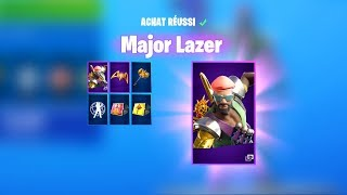 ⭐THE NEW PACK MAJOR LAZER on FORTNITE BATTLE ROYALE...