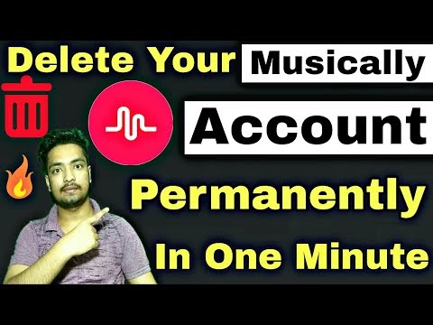 How To Delete Musically Account | Permanently Delete Your Musically Account In Hindi
