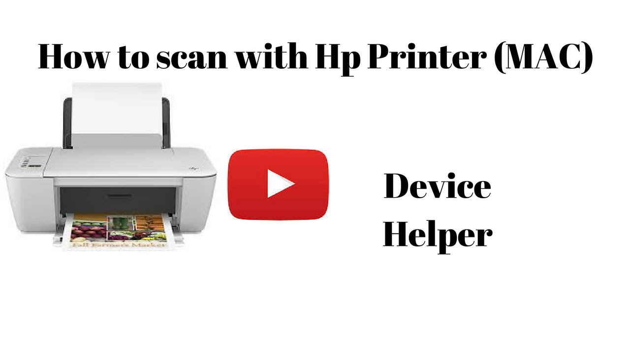 How to Scan With Hp Printer (MAC) Easy