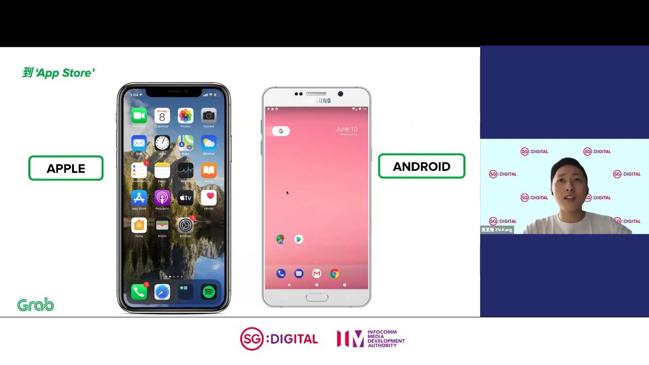 IMDA Digital Pod | Series 5 by Grab | 使用 GrabPay 和 GrabRides 轻松付款和运输