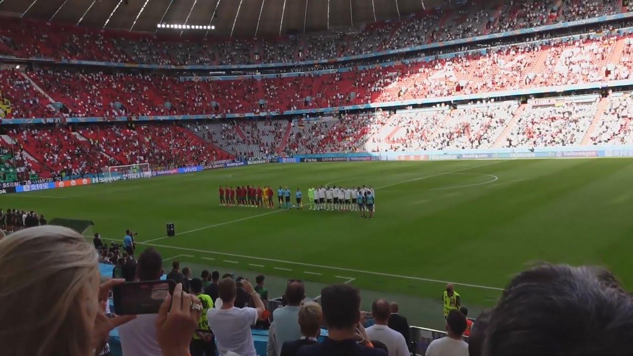 Deutschland vs Portugal LIVE aus Stadion ⚽️🔥   Erné Clips